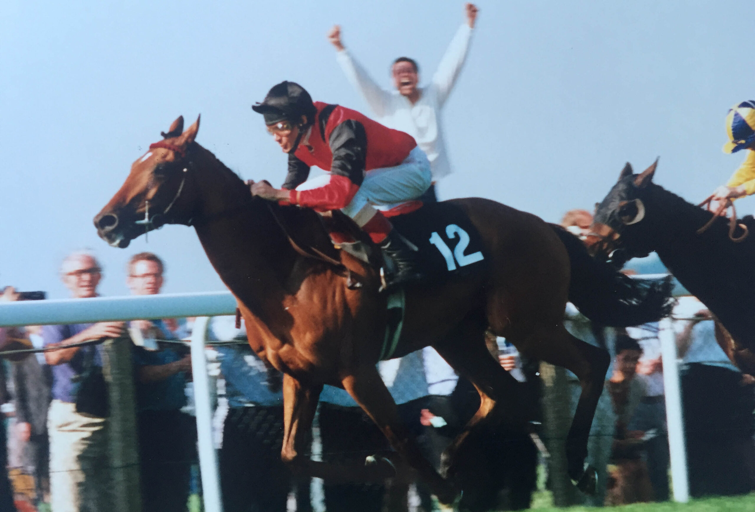 Sweet Glow wins the Ascot Stakes in 1994