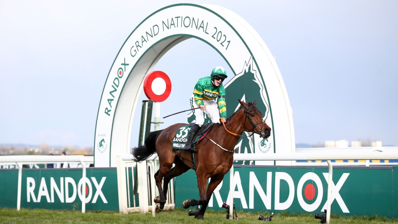 Turf Talk Clean Up in The Grand National