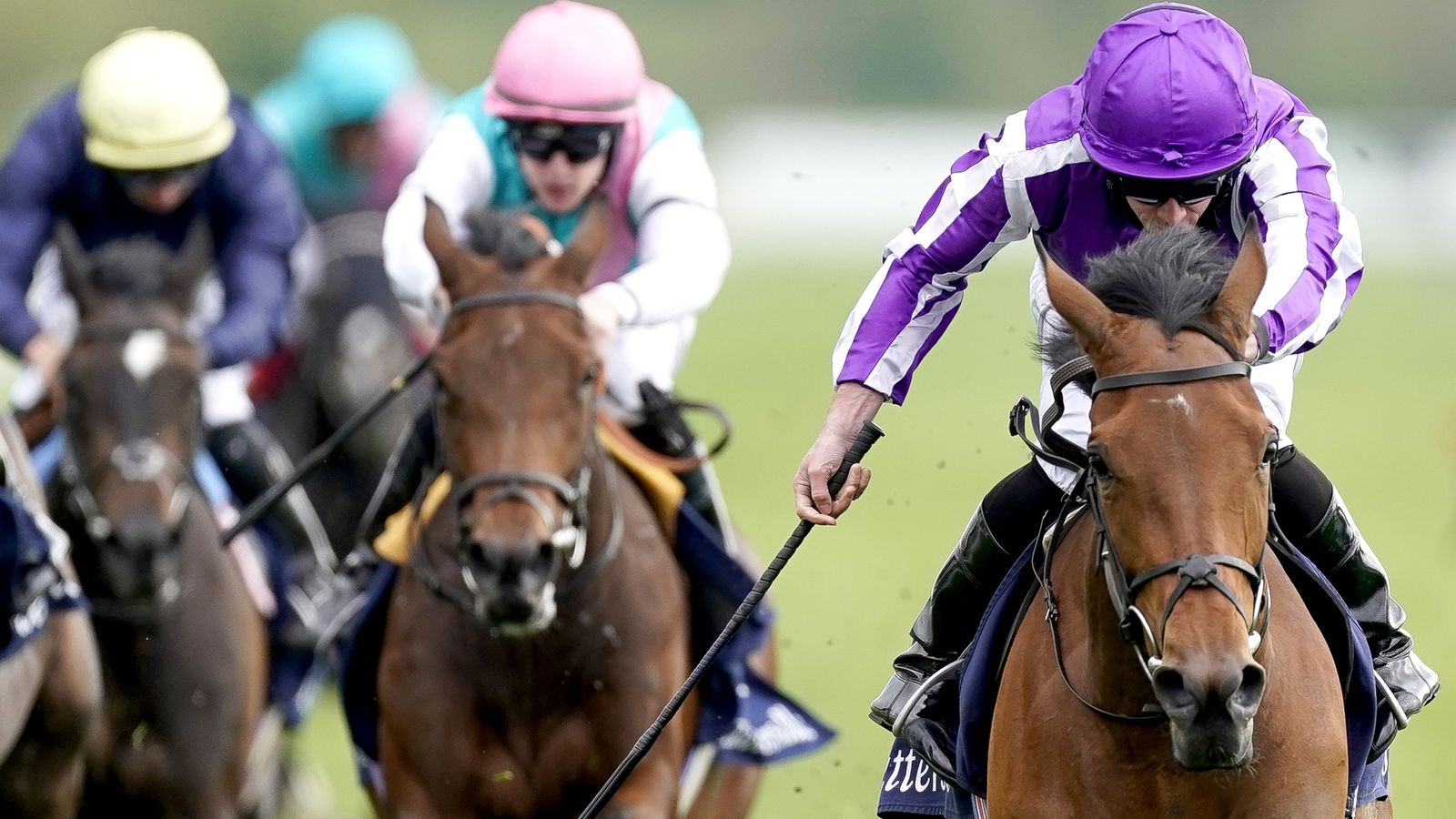 O'Brien Second String to Take The Oaks